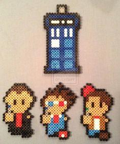 Doctor Who - Tardis + Doctors 9,10,11