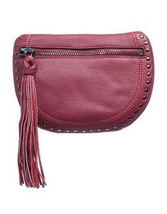 Sanctuary Leather Shoulder Bag Women's Brick