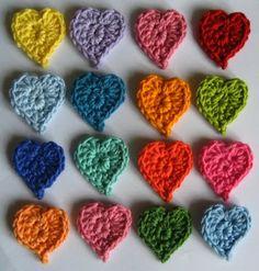 Teeny Tiny Hearts