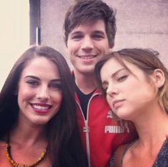 Jessica Lowndes, Matt Lanter, and Jessica Stroup.