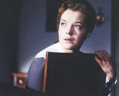 """Romy in """" Mädchen in Uniform """", 1958"""