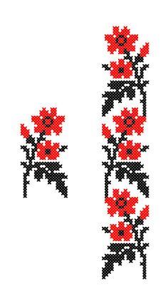 FL294 | www.binecusut.ro | Flickr Crewel Embroidery, Beading Patterns, Needlepoint, Cross Stitch Patterns, Eminem, Ink, Beads, Floral, Handmade