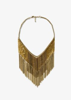Chain mesh necklace - Jewellery for Women | MANGO