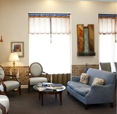 Our waiting room at Utopia Plastic Surgery & Medspa – you will feel right at home!!! Dr. Franklin Rose | Uptown Park
