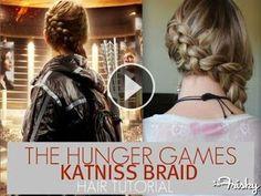 The Katniss Everdeen braid tutorial