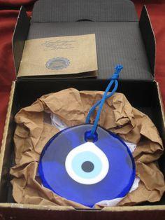 Turkish Evil Eye Glass Bead Charm