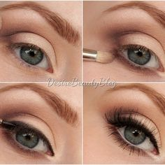 Desire Beauty Blog: Tutorial: Big Bright Eyes AMU für Anfänger