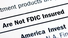 House Committee faults F.D.I.C. for participation in Operation Choke Point.