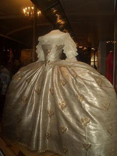 Coronation Dress Of Empress Catherine II 1762