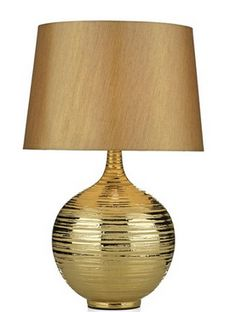 Halo Table Lamp Gold - £99.50 - Hicks and Hicks