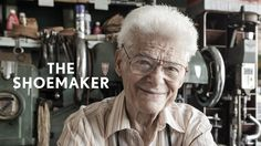 Frank Catalfumo is a 91 year old shoemaker and repairer in Bensonhurst, Brooklyn. He first opened the doors to F&C Shoes in 1945 and continues to work five days a week alongside his son Michael. Brooklyn, Inspirational Videos, How To Make Shorts, A Christmas Story, Back In The Day, Sock Shoes, Year Old, Portrait Photographers, Storytelling