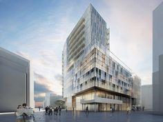 Новый проект Ричарда Мейера. Главный фасад