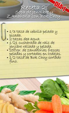 RECETA N° 2  FORMA DE PREPARACIÓN:  * Junta los ingredientes en la jarra SOUP…