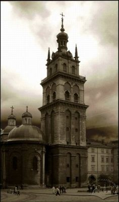 Вежа Корнякта, Львів, Україна.  Tower Kornyakta, Lviv, Ukraine.   Ukrainian castle, palace...