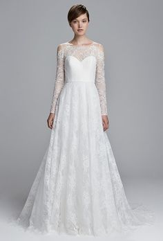 Christos Wedding Dresses - Spring 2017 - Bridal Fashion Week | Brides