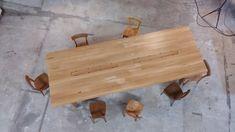 Tisch Eiche Massiv 4m Länge, Design Sascha Mikel 3d Modelle, Design, Mold Making, Objects, Wood, Design Comics