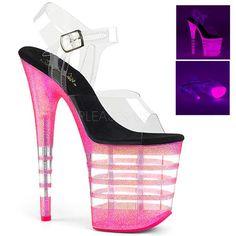 Pleaser Womens Flamingo-808UVT Ankle-Strap Sandal