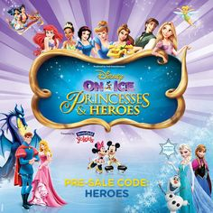 Disney on Ice Princesses and Heroes - Finding Sanity in Our Crazy Life