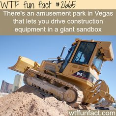 Dig This, Amusement park in Vegas - WTF fun facts