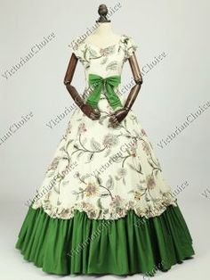 Victorian Belle Princess Alice in Wonderland Tea Party Vintage Dress  Theater Clothing Southern Belle Costume a810bc413574