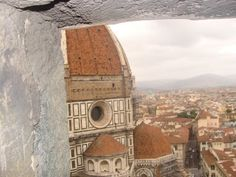 Florence: Climbed to the top of the tower to see the view of Florence. #travel #italy #tuscany #view