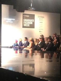 David Gandy at the Graduate Fashion Week Show 2013 ~ David James Gandy David James Gandy, Modern Gentleman, Bees Knees, Gorgeous Men, Supermodels, Graduation, Photo And Video, Concert, Judges