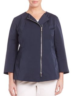 I'm shopping Lafayette 148 New York, Plus Size in the Saks iPad app.