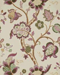 Wallpaper Roslyn Emerald/Damson Sanderson