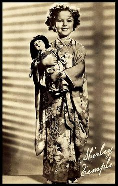 SHIRLEY TEMPLE -- The Little GAIJIN GEISHA by Okinawa Soba, via Flickr.
