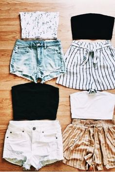 Cute Shorts Outfit Ideas pin desi corrick on outfit ideashigh school in 2019 Cute Shorts Outfit Ideas. Here is Cute Shorts Outfit Ideas for you. Cute Shorts Outfit Ideas 51 spring clothes you will want to keep spring fashion. Teenage Outfits, Teen Fashion Outfits, Girl Outfits, Dress Fashion, Fashion Women, Fashion 2018, Sport Fashion, Fashion Clothes, Twin Outfits