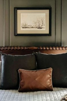 Affordable wall moulding idea with no saw PVC molding. Budget friendly wall moulding idea for a cozy and high end bedroom makeover. Upgrade your bedroom decor with this easy accent wall makeover idea. Pvc Moulding, Wall Molding, Bedroom Wall, Bedroom Decor, Mother Daughter Projects, Window Casing, Funky Junk Interiors, Slat Wall, Diy Headboards