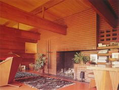 The first usonian - Page 2 - Wright Chat Marcel Breuer, Organic Architecture, Architecture Design, Architecture Portfolio, Usonian House, Frank Lloyd Wright Homes, Interior And Exterior, Interior Ideas, Concrete