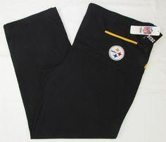 Pittsburgh Steelers Scrub Pants Size Official NFL Team Apparel Loungewear for sale online Black Scrubs, Nfl Team Apparel, Scrub Pants, Pittsburgh Steelers, Lounge Wear, Bermuda Shorts, Football, Best Deals, Fashion
