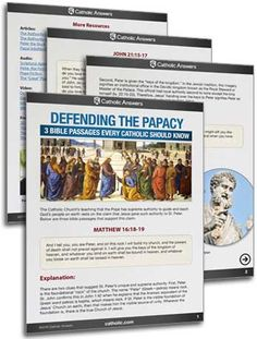 Defending the Papacy: 3 Bible Passages Every Catholic Should Know