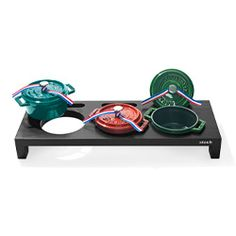"""Staub oven-to-table cast-iron mini-cocottes for single servings  (one of Oprah's """"favorite things"""")"""
