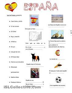 Espana trabajos - Hojas de trabajo de ELE gratuitas espagnol.hispania.over-blog.com
