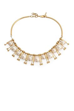Lele Sadoughi Shooting star necklace