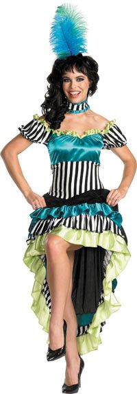 Can-Can Cutie Adult Costume - Saloon Girl Costumes