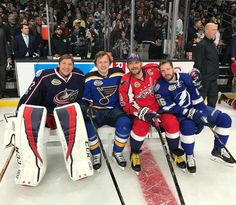 Alex Ovechkin poses with the other Russians participating in the 2017 All-Star Game (Photos) ‹ Russian Machine Never Breaks