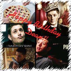 HAPPY BIRTHDAY DEAN!!!!