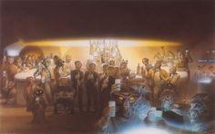 Mos Eisley,bar. Star Wars: Episode IV A New Hope.