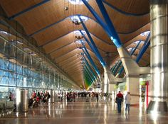 Madrid Barajas Airport Terminal 4, Madrid, by Richard Rogers