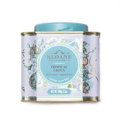 TROPICAL GREEN - $18.00 from Sloane Tea Company http://sloanetea.com/products/tropical-green