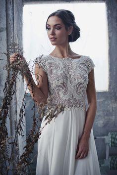 Znalezione obrazy dla zapytania suknie ślubne justyna kodym
