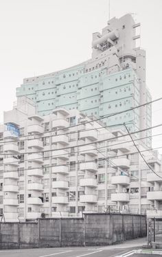 """janvranovsky: """" The New Sky Building by Yoji Watanabe, relatively unknown sample of 1970s Metabolism in Tokyo. On a personal note: I think the building lost a lot of its strength and charm after being..."""