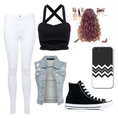"""""""Untitled #2"""" by vlenes on Polyvore featuring beauty, Miss Selfridge and Converse"""