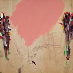 Raffi Lavi Cy Twombly, Pink Elephant, Art Boards, Painting & Drawing, Fair Grounds, Drawings, Image, Group, Beauty