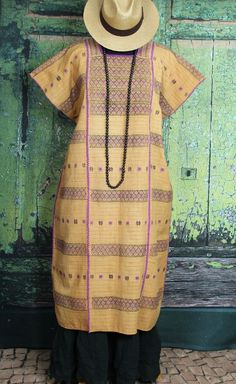 Exquisite Collector Quality Huipil Hand Woven Amuzgo Mexico Frida Santa Fe Style #Handmade #MexicanDress