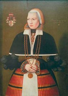 Ludger tom Ring, Portrait of Dorothea Vechelde, born of Brotizem