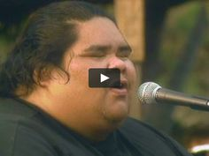 """Israel """"IZ"""" Kamakawiwo`ole's Platinum selling hit """"Over the Rainbow"""" OFFICAL video produced by Jon de Mello for The Mountain Apple Company…"""